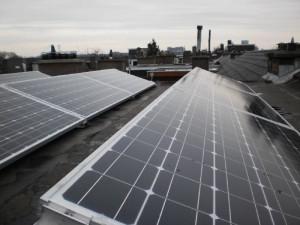 Zonnepanelen installeren plat dak 3