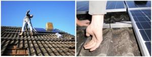 Zonnepanelen installeren schuin dak 3