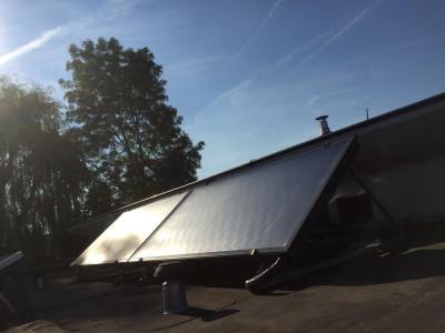 zonneboiler masters in solar, vlakke plaat zonneboiler